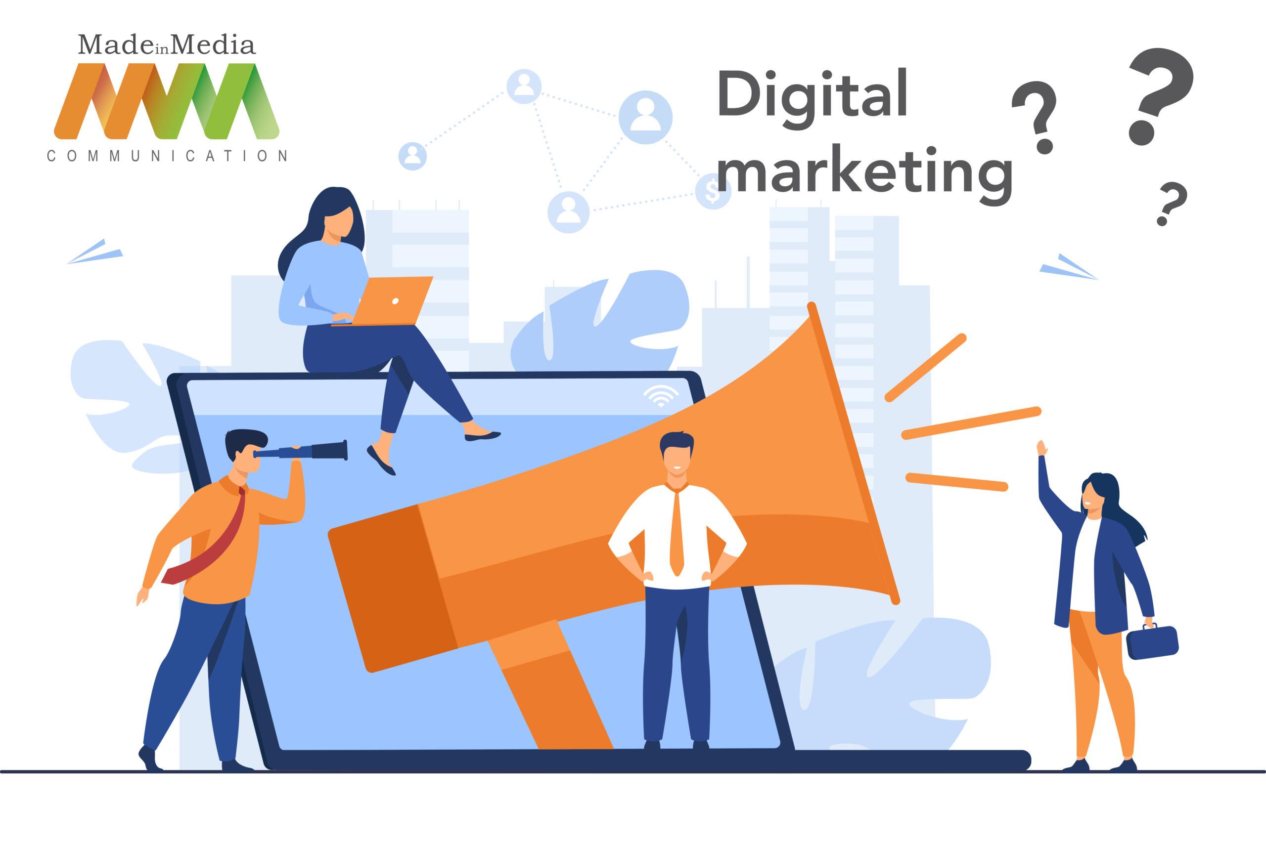 Comunicazione aziendale e nuove strategie digitali.
