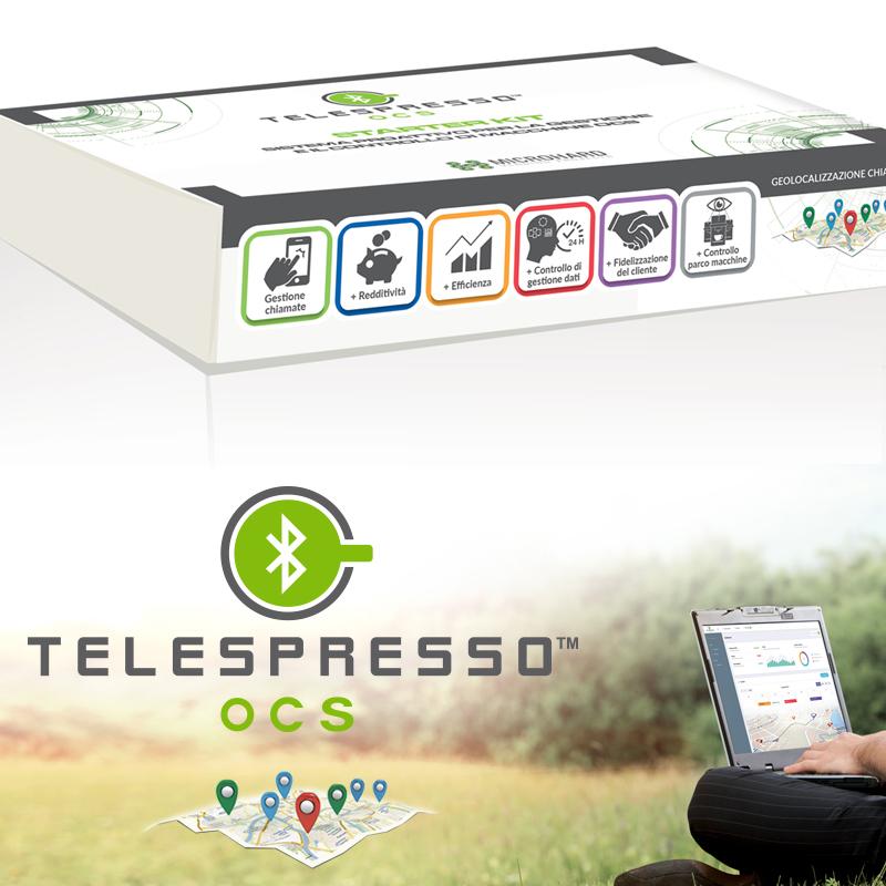 Pack per Starter Kit Telespresso