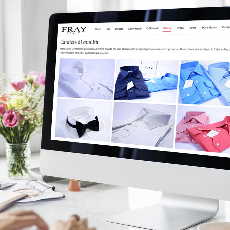 Fray Italy – sito web